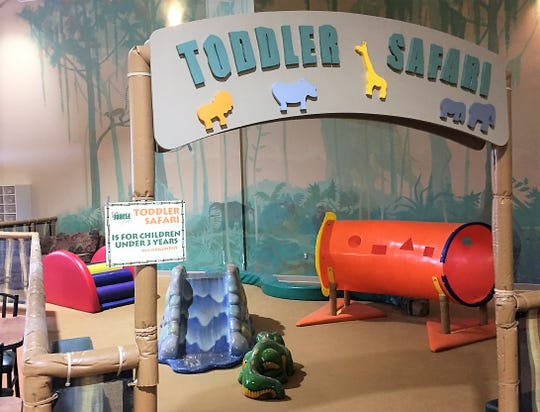 Jungle Java's Toddler Safari has been deserted since March 14.