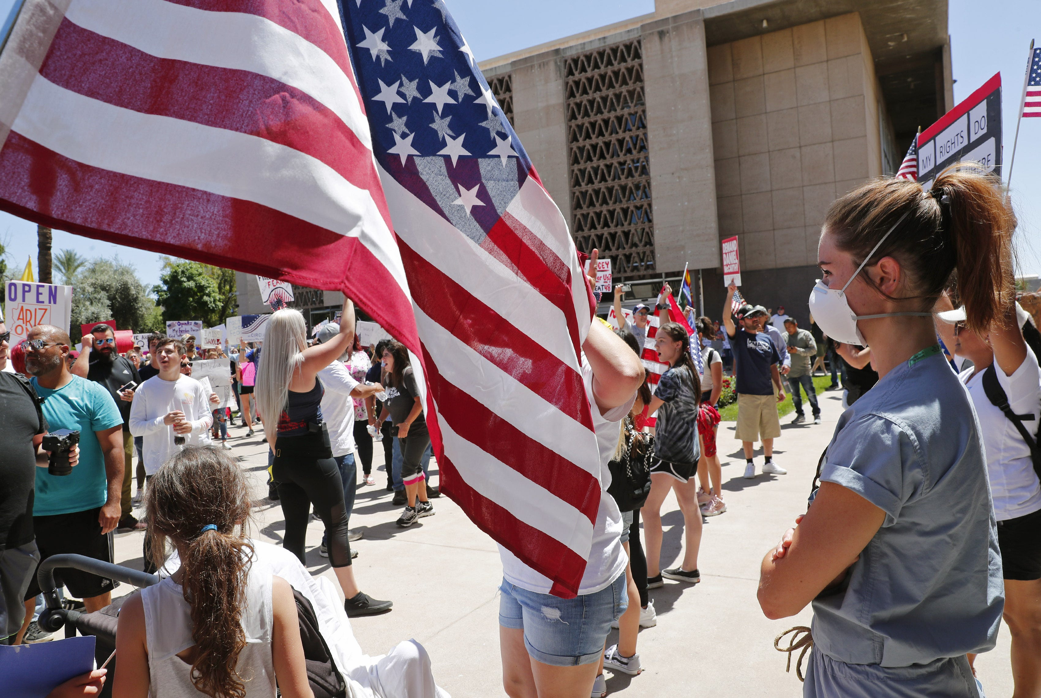 COVID-19 inspired Arizonans on all sides to debate constantly