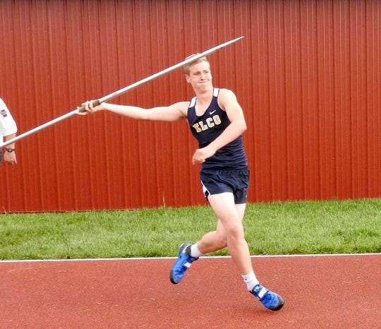 Ben Horst - Elco track and field
