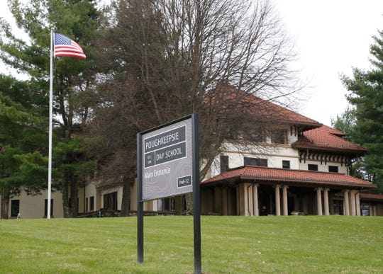 The Poughkeepsie Day School in the Town of Poughkeepsie on April 20, 2020.