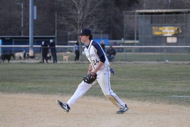 Scott Marsh, senior Highland baseball player. He spent his sophomore and junior seasons playing for Our Lady of Lourdes.