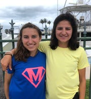Nicole Marvin (left) and her sister Sarah (right) of Pawling are adapting to new surroundings and new challenges in running during the pandemic.