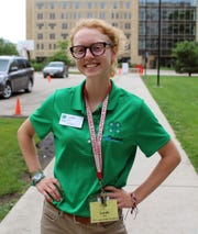Pictured is Leah Witt, Wisconsin 4-H Leadership Council.