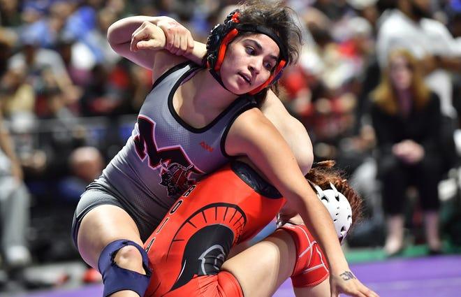 Samara Chavez, Martin High (Photo: Ray Shoaf/Wrestling Texas)