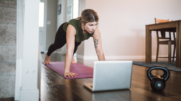 Home workouts are on the rise.