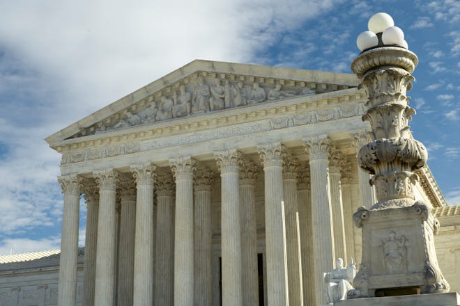 This is a Jan. 27, 2020 file photo of The Supreme Court in Washington. The Supreme Court has ruled that juries in state criminal trials must be unanimous to convict a defendant, settling a quirk of constitutional law that had allowed divided votes to result in convictions in Louisiana and Oregon.