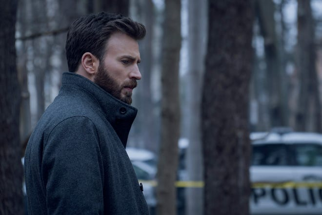 Chris Evans plays a Massachusetts district attorney whose teenage son is accused of murder in Apple TV+'s 'Defending Jacob.'