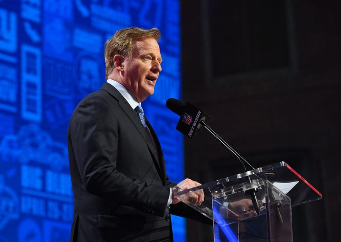 NFL Commissioner Roger Goodell volunteers to go without salary amid coronavirus pandemic; league enforces pay cuts, furloughs