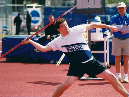 St. Johnsbury native Bryan Black won a national championship in javelin for Middlebury College.