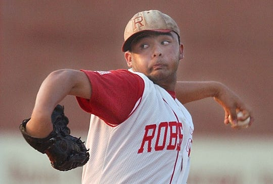 Robstown's Joey Gonzalez set a program record with 20 strikeouts in a 5-0 win against Flour Bluff in 2003.