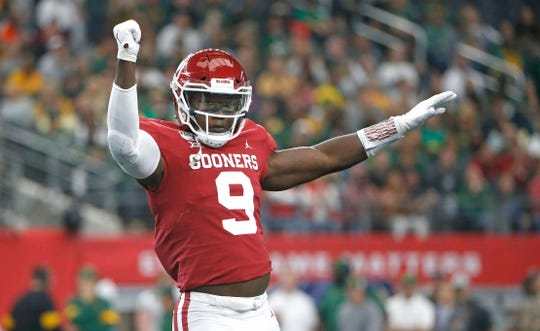 Oklahoma linebacker Kenneth Murray has a versatile skillset that could make him a top 20 pick.