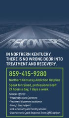 Northern Kentucky residents might find hangers on their doors, an attempt to let them know that addiction services are available during the new coronavirus pandemic.