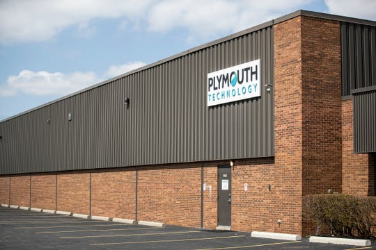 Plymouth Technologies facility in Rochester Hills, Saturday, April 18, 2020.