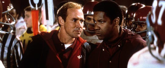"""Will Patton and Denzel Washington in """"Remember the Titans."""""""