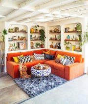 Justina Blakeney, a famed interior designer and author, said if she has to be at home right now, she's going to redecorate every inch of her space.
