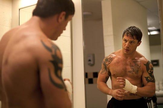 "Tom Hardy in ""Warrior."""