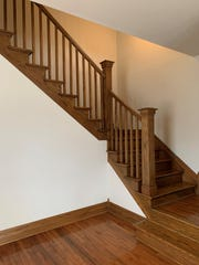 Another DIY project you can do right now: Touch up the trim in your home. Urbanum owner Brigid Beaubien said she and her husband gave all of the downstairs trim and stair rails in their home a touch-up.