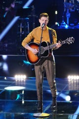 "Jacob Miller performed in ""The Voice's"" ""Knockout Rounds"" on April 20, 2020."