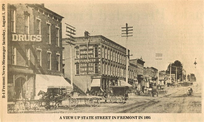 The News-Messenger printed this State Street photograph in 1970.