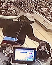 The Lee County Sheriff's Office is looking to identify this man who they say committed an early morning armed robbery Tuesday at the 7-Eleven at Lee Boulevard and Gunnery Road North in Lehigh Acres