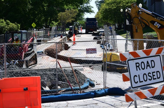 Clemson University campus is closed, opening up opportunity to repair busy campus streets in April.