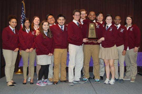 The Madison Academic High School academic decathlon team won the state competition for the seventeenth consecutive year in February. They were set to compete at nationals until the competition, including online tests, was canceled.
