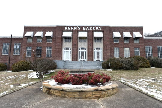 The historic Kern's Bakery Building is seen on Friday, Feb. 20, 2015. The building has been on Knox Heritage's Fragile 15 list and received a historic zoning overlay.