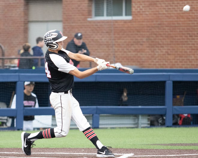 Nick Cortez of Pinckney ranked third in Livingston County baseball last season with a .443 batting average.