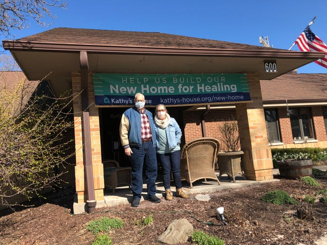 Tony O'Malley and his wife, Sandie, have been in and out of Kathy's House, which provides affordable housing for patients and caregivers of nearby hospitals in Wauwatosa, for the last four months.