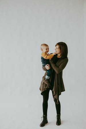 Jenna Meier left her job in the investment industry when her son, Avery. was born. Since then she started The Glass Pantry, in Walker's Point.