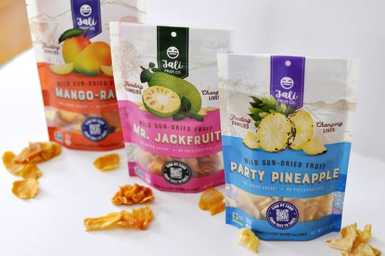 Jali Fruit Co., based in Milwaukee, creates passive fruit dehydrators that can lead to dried packages of mango, jackfruit and pineapple.