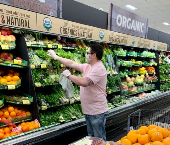 Kevin Carroll offers a quicker option for Morris County residents who need groceries delivered.