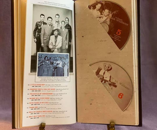 A 10-CD box set of Hank Williams' music is for sale by the Hank Williams Museum.