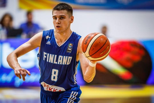 Teemu Suokas is the third signee to Ball State men's basketball 2020 recruiting class. Suokas comes to BSU from Finland.