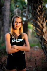 Gulf Coast High School's Caroline Barlow is the 2013 Girls Cross Country Runner of the Year