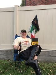 Father Ron Clingenpeel, WWOZ host, Festing in Place (photo courtesy WWOZ)