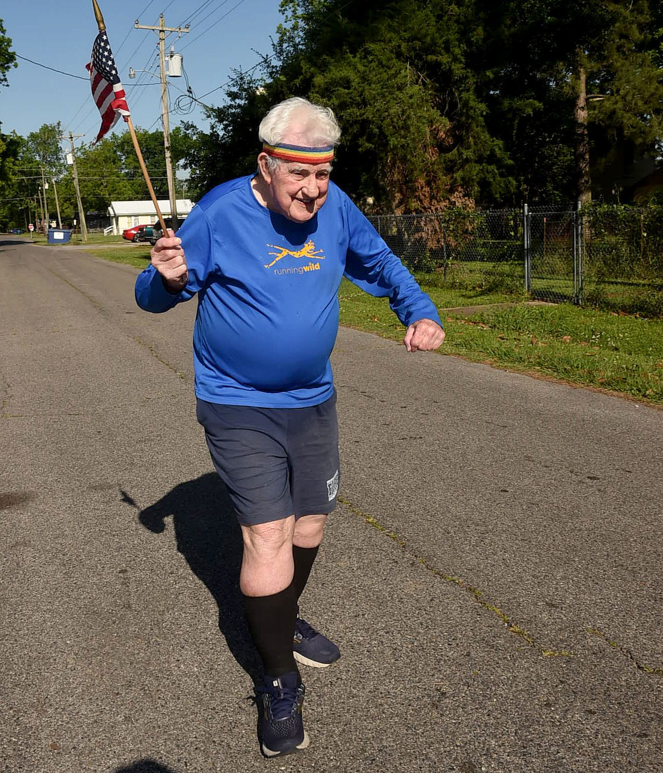 96-year-old WWII veteran is running coast-to-coast again. This time to raise money to sail a restored ship