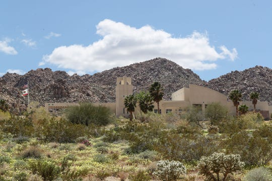 At least one resident has tested positive for the coronavirus at the Hi-Desert Continuing Care Center in Joshua Tree, April 21, 2020.