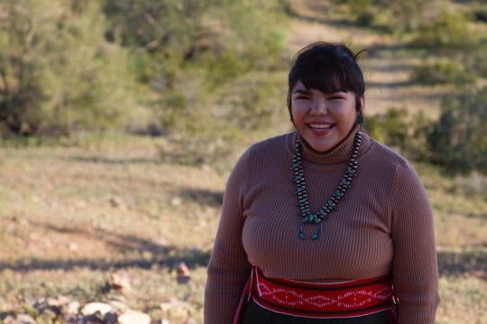 Kianna Joe, an Arizona State University freshman and Navajo climate activist.