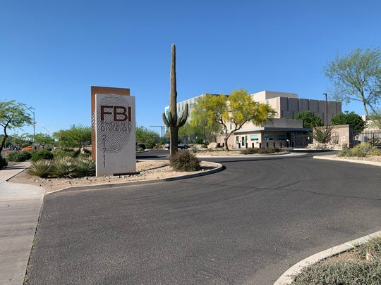 The FBI's Phoenix Field Office at 7th Street and Deer Valley Drive in Phoenix on April 20, 2020.