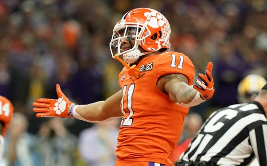 Clemson Tigers linebacker Isaiah Simmons is Bob McManaman's final choice for the Arizona Cardinals in the first round of his NFL mock draft.