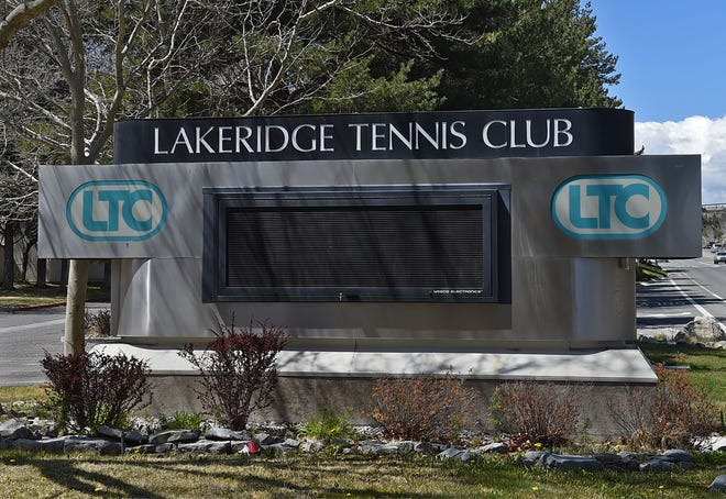 Lakeridge Tennis Club April 21, 2020.