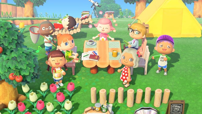 Animal Crossing for the Nintendo Switch.