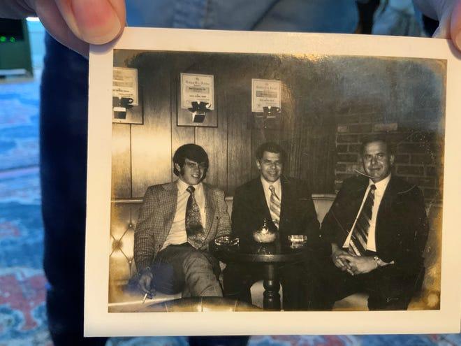 """The partners in Rund's Restaurant were (left to right): Richard """"Duff"""" Rund, Richard E. Rund and James Rund."""