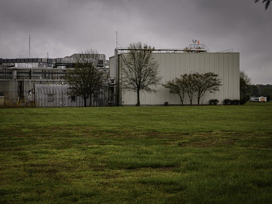 The Tysons chicken processing plant in Temperanceville in Accomack County.