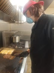 Blake Bostick is a cook at Gullo's Fresh Produce and Bake Shop