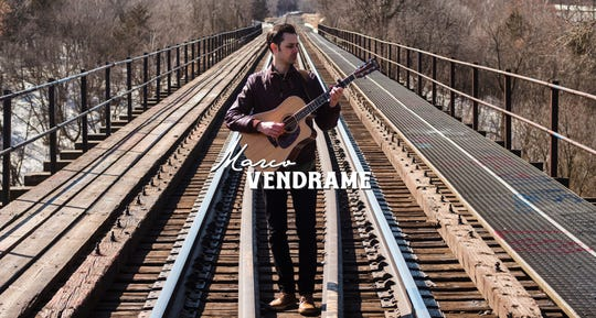 Local musician Marco Vendrame hosts Facebook Live concerts at 4:30 p.m. every Friday.