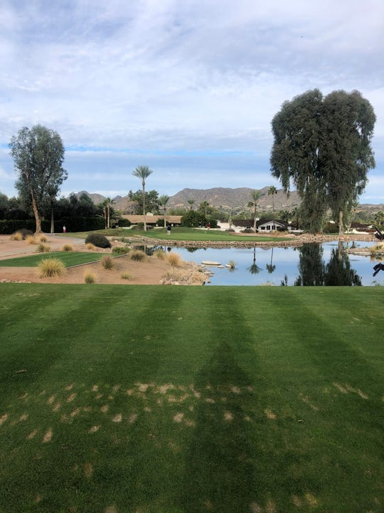 7th hole at Mountain Shadows Short Course in Paradise Valley, Arizona.