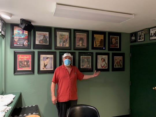 Instead of planning a party for the 35th anniversary of the The Moon co-owner Scott Carswell has been sprucing up the building and waiting out the coronavirus.