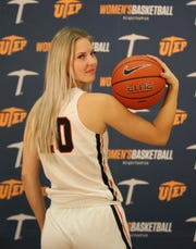 Dagne Apsite is a 6-foot-2 forward from Latvia who has signed with the UTEP women's basketball team
